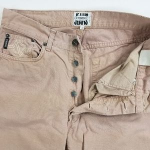 ICE Iceberg Italy Slim Straight Buttonfly Jeans